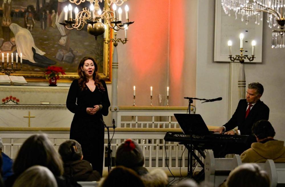 Joulukonsertti Pyhärannan kirkossa
